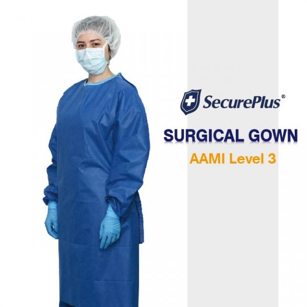 SecurePlus® Sterile Standard Surgical Gown AAMI Level 3