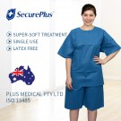SECUREPLUS® PATIENT PYJAMAS-SHORTS XS